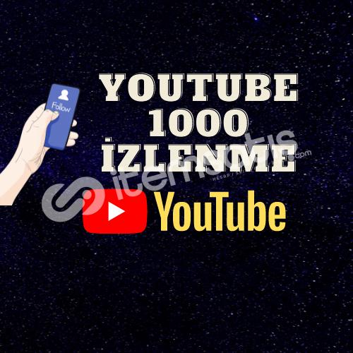 1000 GERÇEK İZLENME GARENTİLİ | İNDİRİM