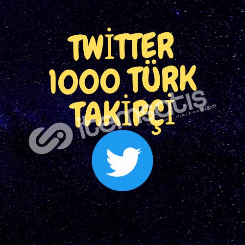 1000 TÜRK TAKİPÇİ/ANLIK GÖNDERİM/%100 GARENTİ