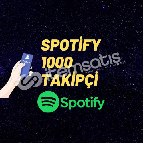 SPOTİFY 1000 TAKİPÇİ/ANLIK GÖNDERİM/GARENTİ