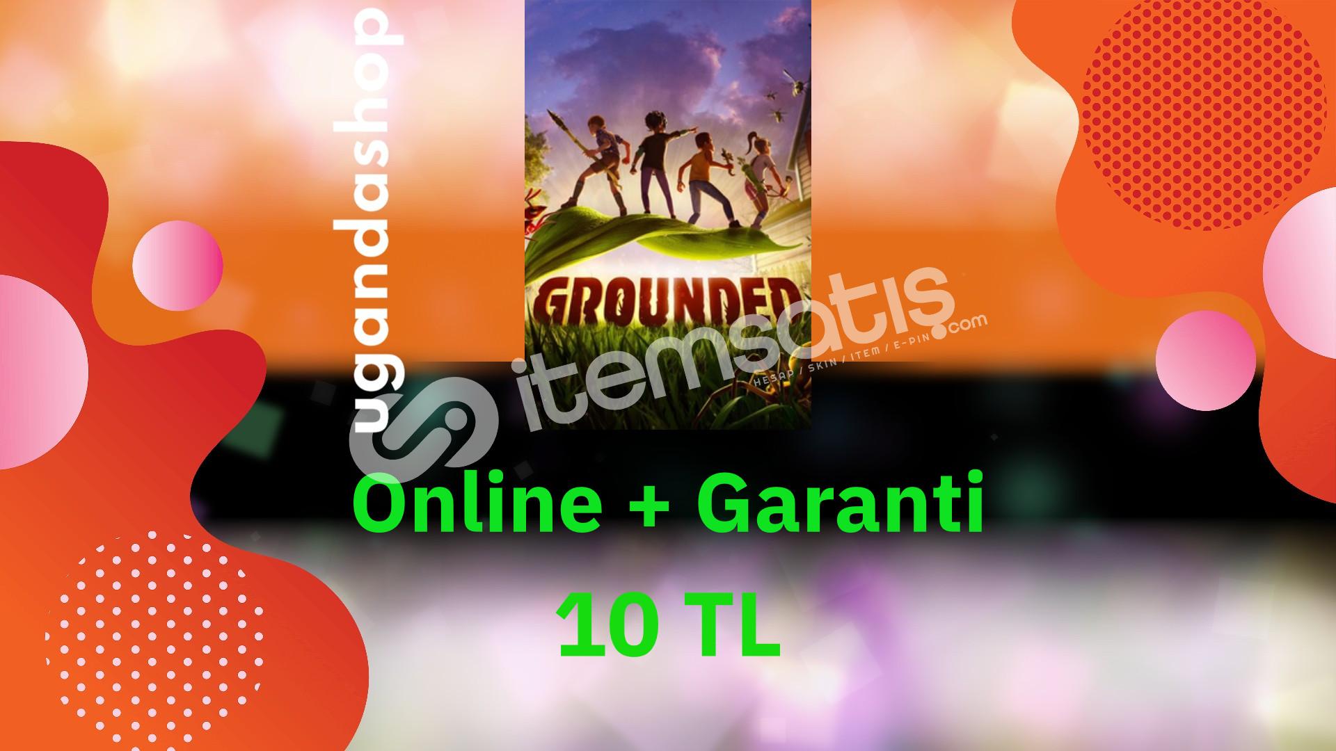 Grounded Online Microsoft/Xbox Hesap + Garanti