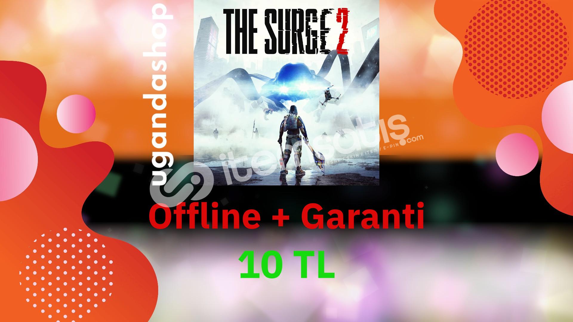 The Surge 2 Offline Origin Hesap + Garanti