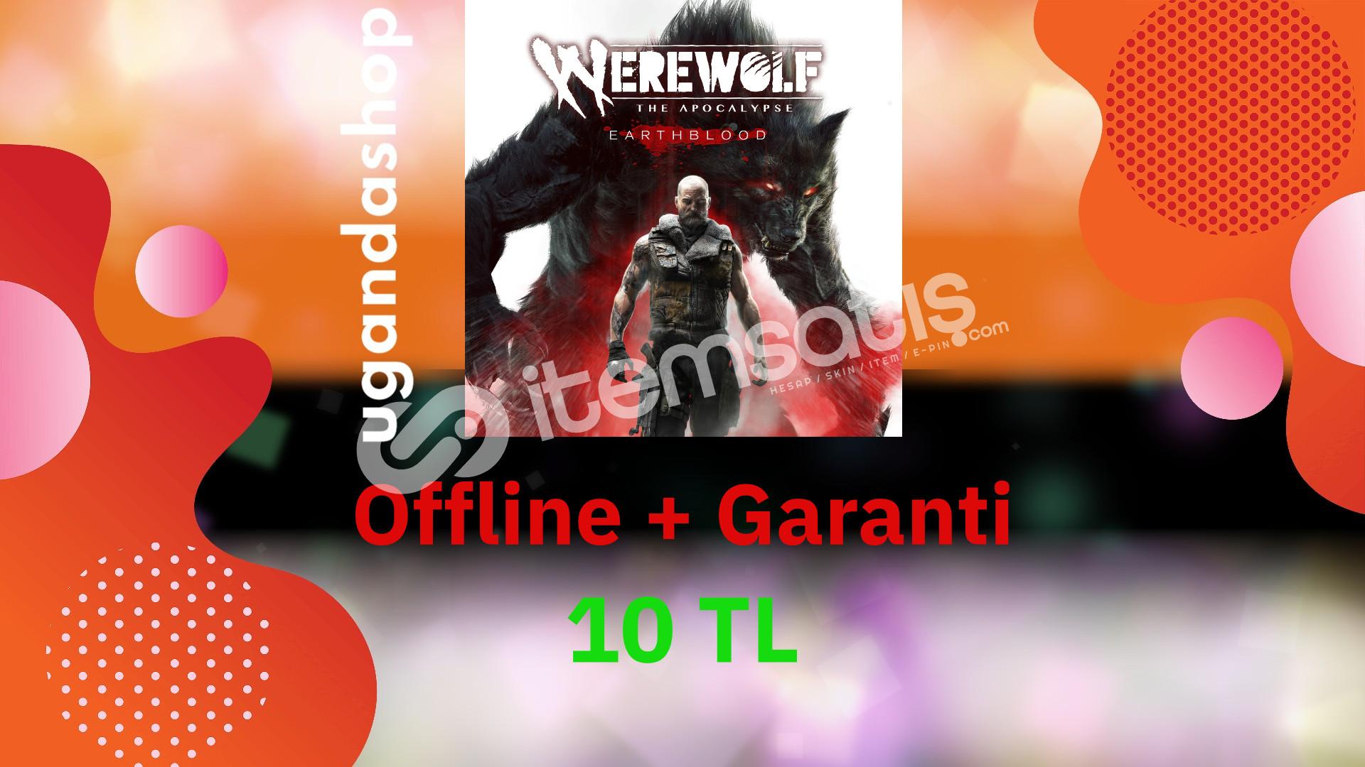 Werewolf The Apocalypse Offline Epic Games Hesap + Garanti