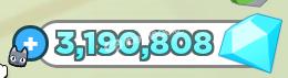 500k gem ( stok 3m )