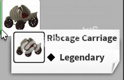 Adopt Me Ribcage Carriage