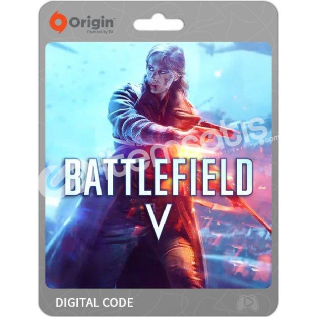 Origin Battlefield V oyun kodu.