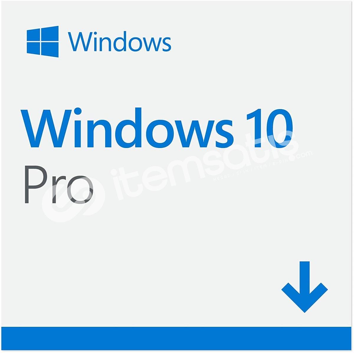 Windows 10 PRO Key 32BiT/64BİT