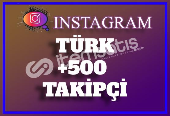 500 Instagram Türk Takipçi   Hemen Teslim