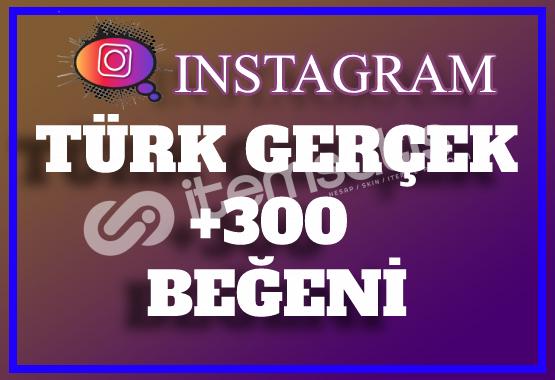 300 Instagram Türk Gerçek Beğeni | Keşfet Etkili