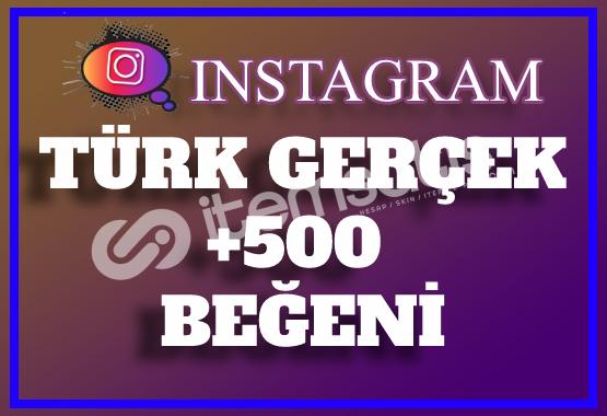 500 Instagram Türk Gerçek Beğeni | Keşfet Etkili