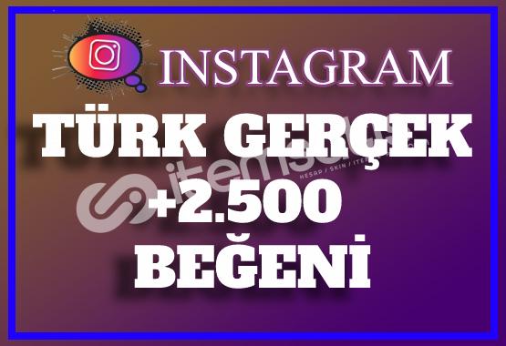 2.500 Instagram Türk Gerçek Beğeni | Keşfet Etkili