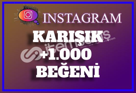1.000 Instagram Beğeni Karışık | Keşfet Etkili