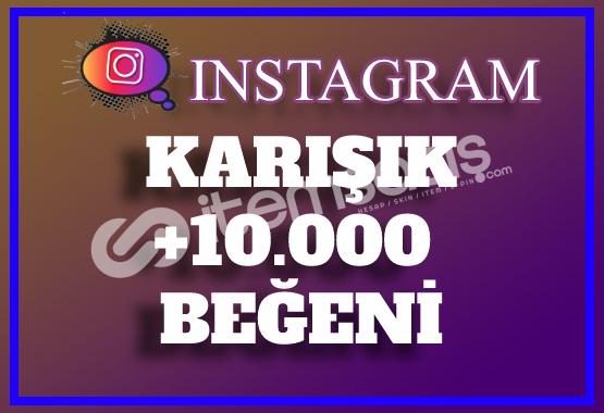 10.000 Instagram Beğeni Karışık | Keşfet Etkili