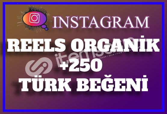 250 Instagram Reels Türk Beğeni | Keşfet Etkili