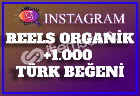 1.000 Instagram Reels Türk Beğeni   Keşfet Etkili