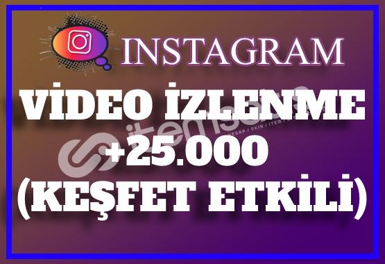 25.000 Instagram Video İzlenme | Keşfet Etkili