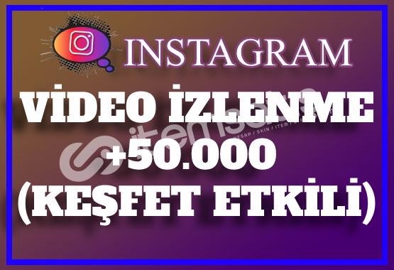 50.000 Instagram Video İzlenme | Keşfet Etkili