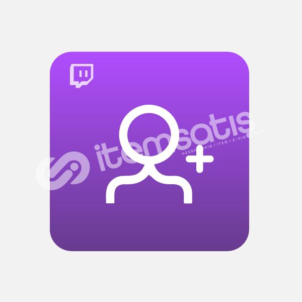 Twitch Takipçi 1K