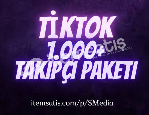 1.000 Tiktok Takipçi Paketi