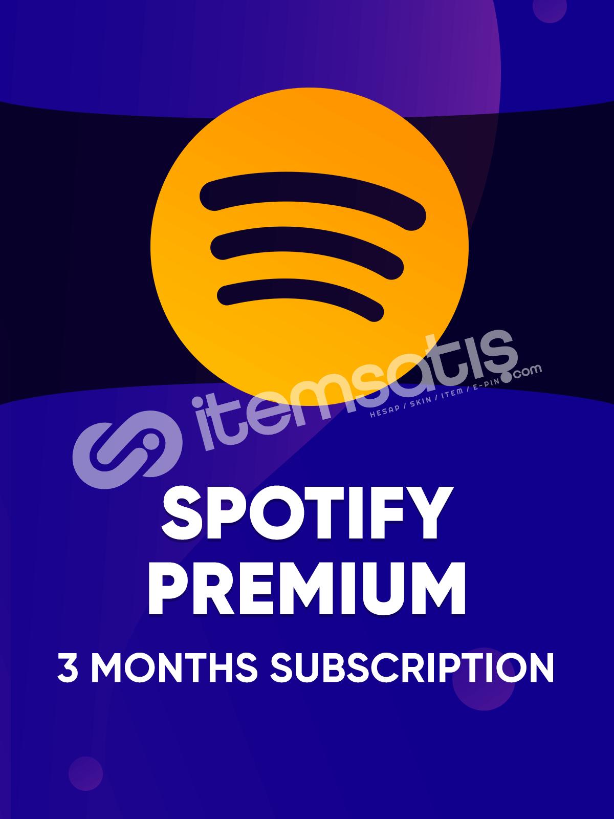 Spotify 3 Aylık Bireysel Premium