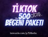 500 TikTok Beğeni Paketi