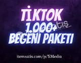 1.000 TikTok Beğeni Paketi