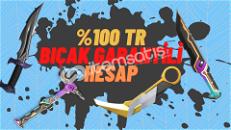 ♛%100 BIÇAKLI %100 TR ♛KALİTELİ HESAPLAR