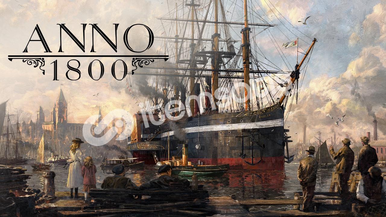 Anno 1800 + BİLGİLER DEGİŞİR