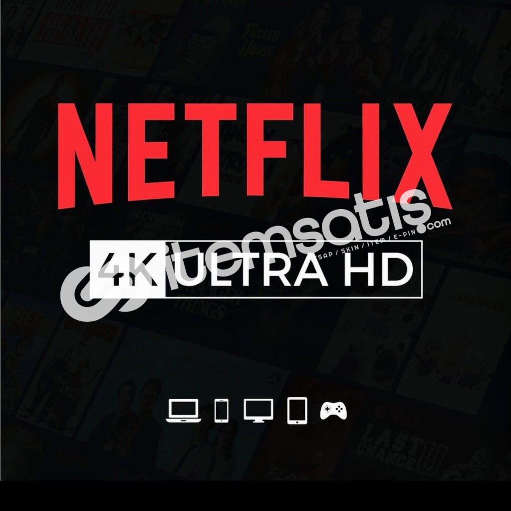 Netflix Ultra HD Premium Hesap 3 aylık