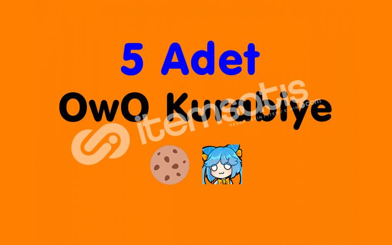 5 Adet OwO Kurabiye