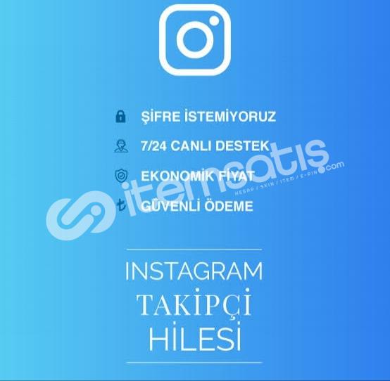Instagram 1K FULL TÜRK   BOT TAKİPÇİ [HIZLI++⚡]