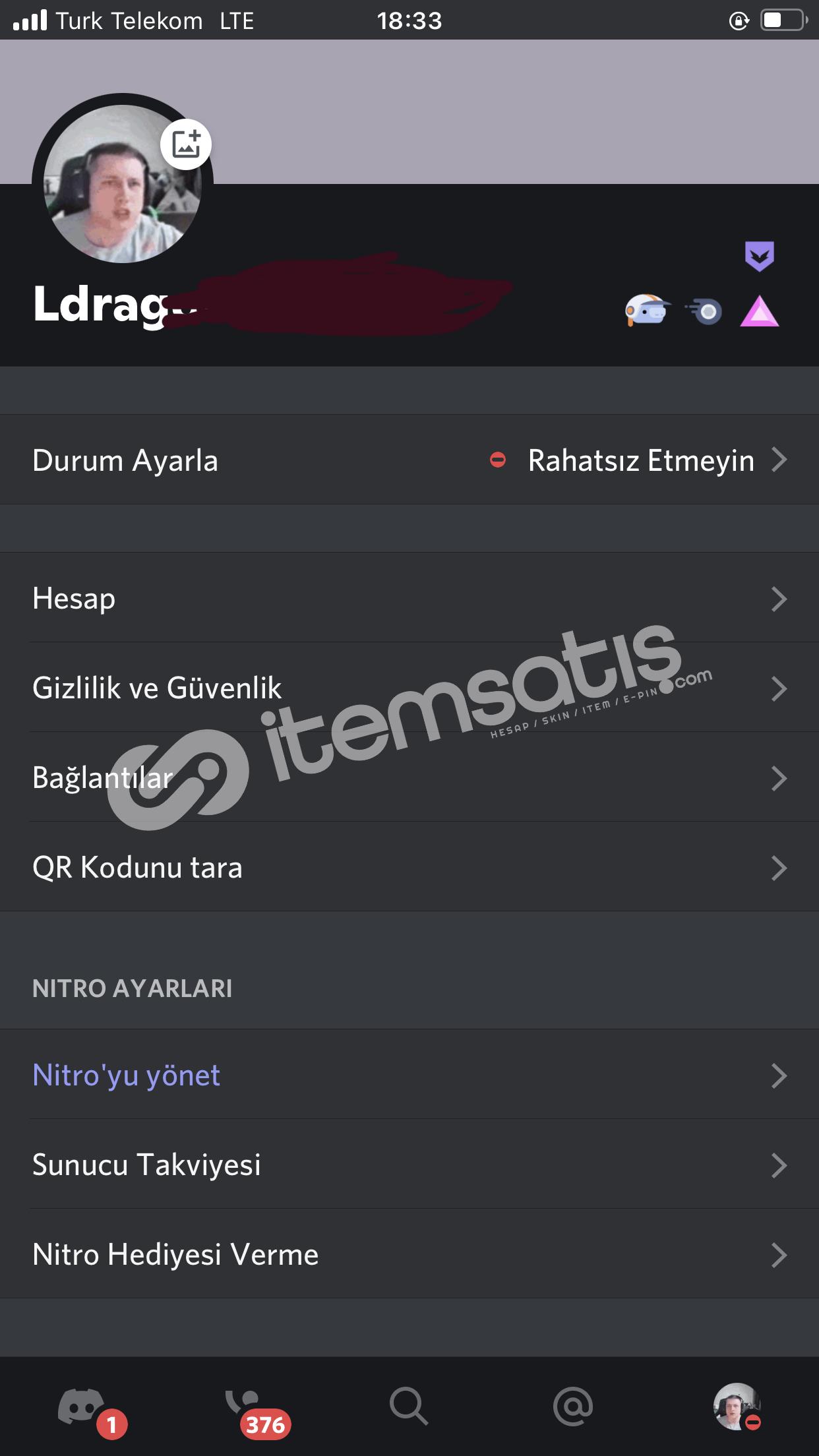 DİSCORD EARLY HESAP + 17 AYLIK BOOSTLU NİTRO