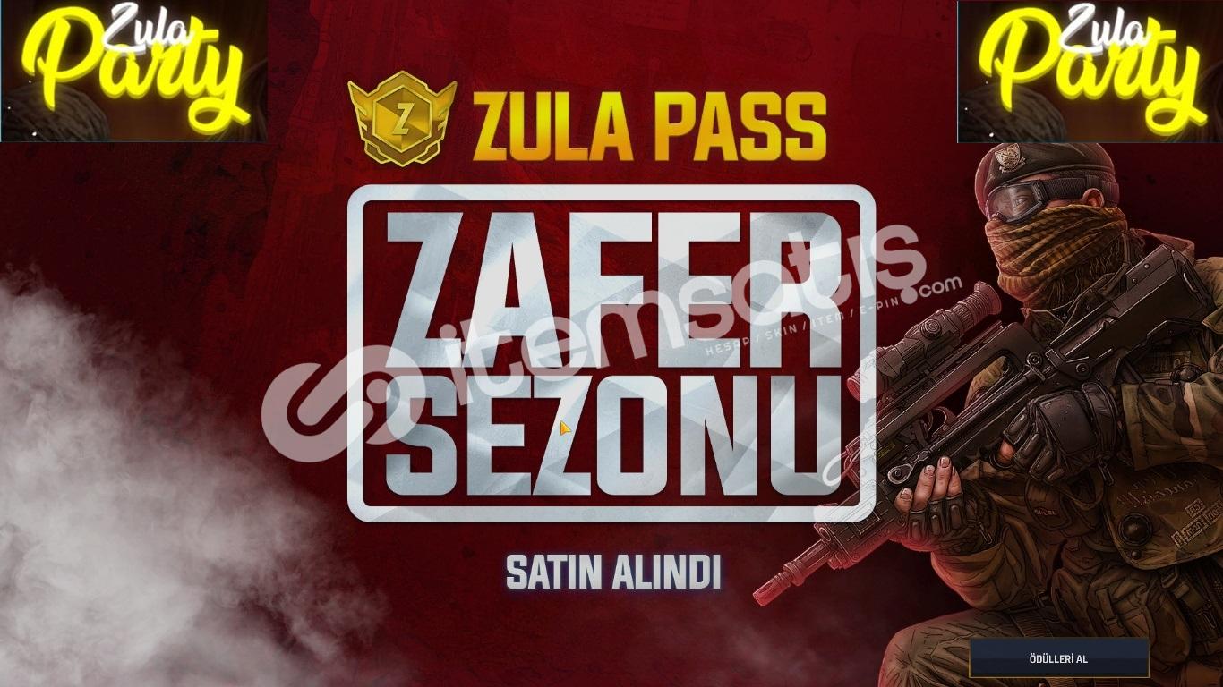 ZULA PASS SATILIR SERİ TESLİMAT