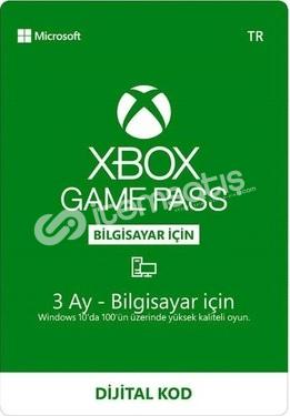 Game Pass PC 2x3 Aylık Kod 10 TL