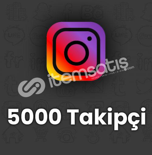 ✅| 5.000 Instagram Takipçi | KARIŞIK ✅