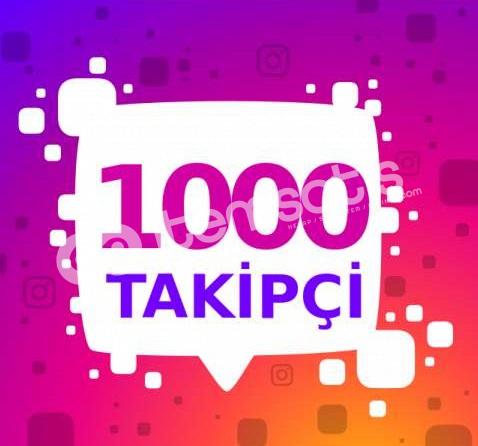 İnstagram 1K Takipçi Anlık Türk Gerçek %100