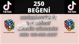 TİKTOK 250 BEĞENİ   KEŞFET ETKİLİ   3 TL