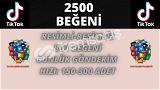 TİKTOK 2500 BEĞENİ   KEŞFET ETKİLİ   20 TL