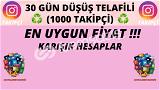 1000 TAKİPÇİ | 30. GÜN TELAFİLİ ♻️ | 11 TL