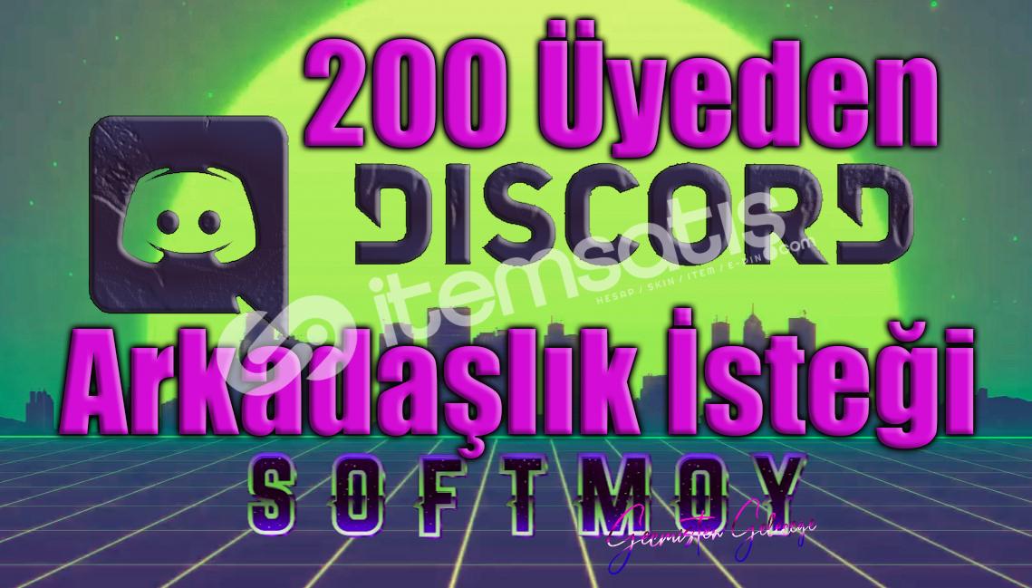 200 arkadaş isteği 7/24 aktif oyun oynayan discord üyesi