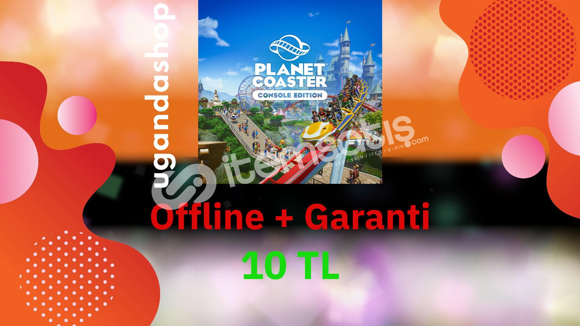 Planet Coaster offline Steam Hesap + Garanti