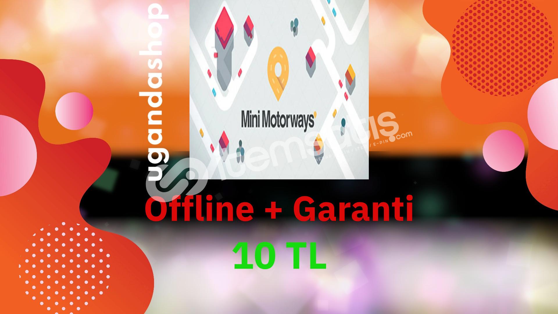 Mini Motorways Offline Steam Hesap + Garanti