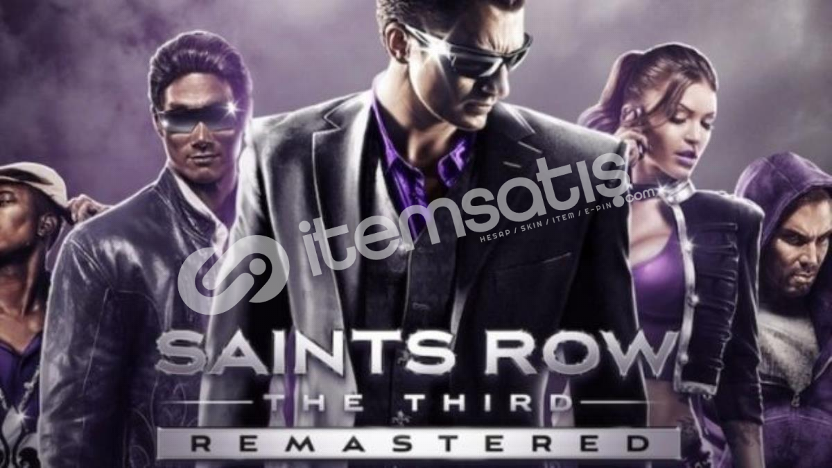 Saint's Row: The Third Remastered Epic Games Hesabı