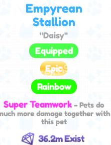 pet simulator x best enchanted pet super teamwork