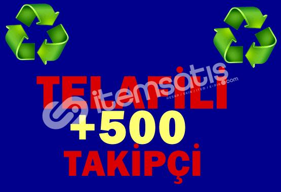 ♻️ +500 Telafili Takipçi ♻️