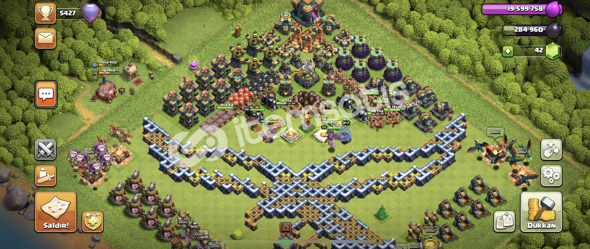 234 lewel clash of clans full+full