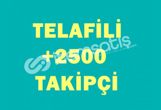 ♻️ +2500 Telafili Takipçi ♻️