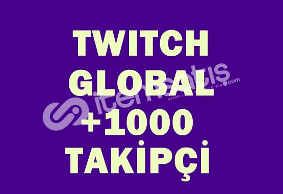 1000 Global Takipçi | DÜŞÜŞ YOK |
