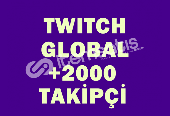 2000 Global Takipçi | DÜŞÜŞ YOK |