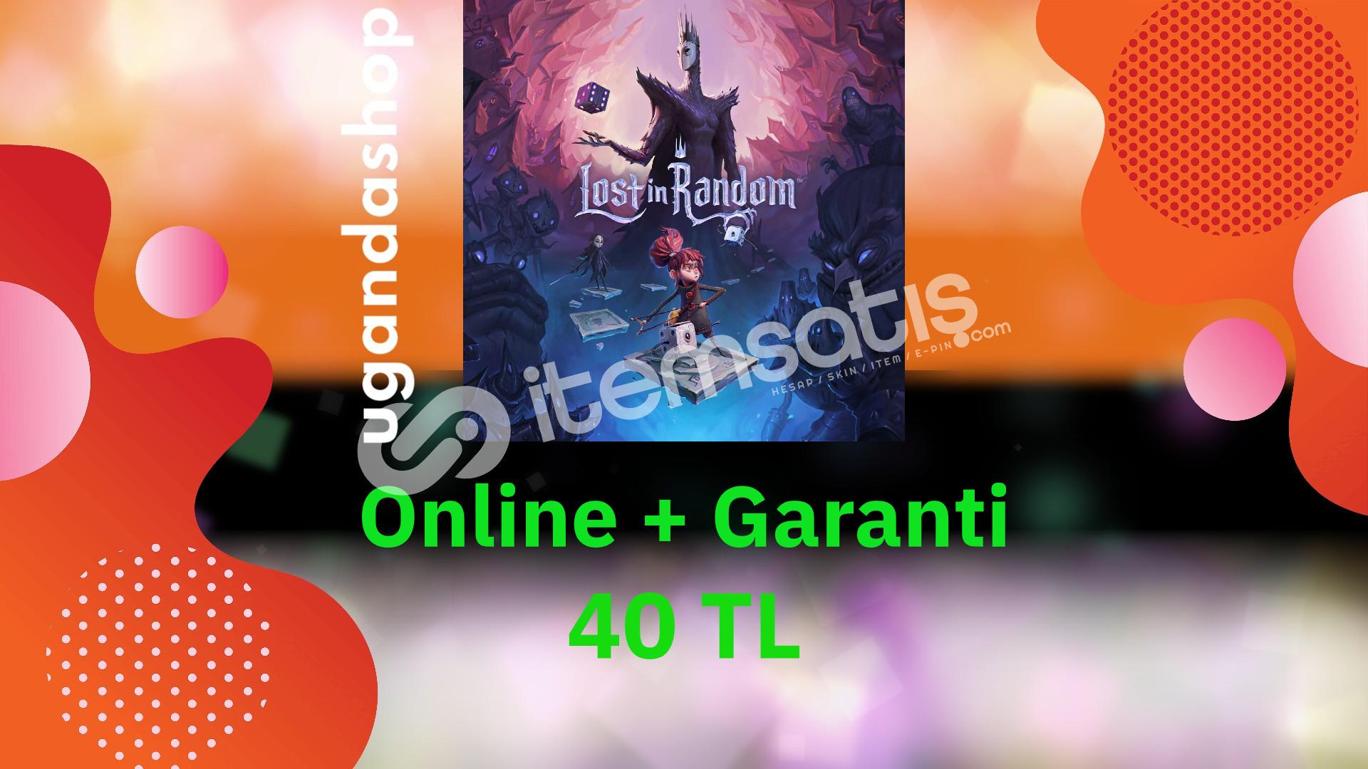 Lost in Random Online Origin Hesap + Garanti