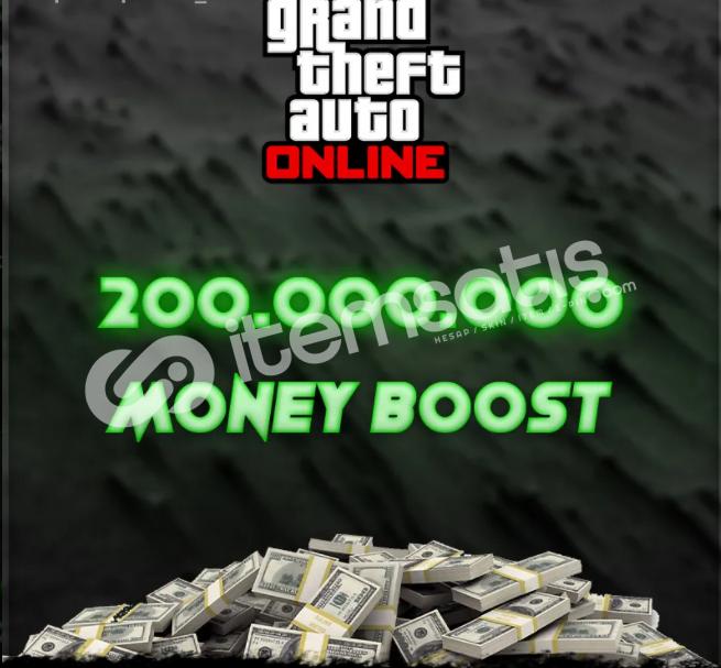 Gta 5 Online 200M Para